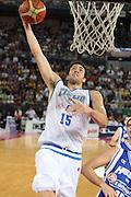DESCRIZIONE : Roma Amichevole preparazione Eurobasket 2007 Italia Grecia <br /> GIOCATORE : Angelo Gigli <br /> SQUADRA : Nazionale Italia Uomini <br /> EVENTO : Amichevole preparazione Eurobasket 2007 Italia Grecia <br /> GARA : Italia Grecia <br /> DATA : 30/08/2007 <br /> CATEGORIA : Tiro <br /> SPORT : Pallacanestro <br /> AUTORE : Agenzia Ciamillo-Castoria/S.Silvestri