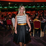 London,England,UK. 11th May 2017. Andrea McIlroy-Rose presents the Sports Role Models - Teams awards at the Women's Sport Trust Awards - #BeAGameChanger at The Troxy,london, UK. by See Li