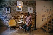 Samer Al Qadri Kadri portraits Pages bookstore bookshop Istanbul