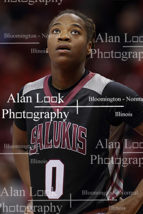 04 January 2015:  Dyaba Pierre during an NCAA MVC (Missouri Valley Conference) women's basketball game between the Southern Illinois Salukis and the Illinois Sate Redbirds at Redbird Arena in Normal IL