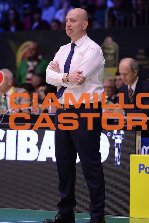 Menetti Massimiliano<br /> Grissin Bon Reggio Emilia - Betaland Capo D'Orlando  <br /> Poste Mobile Final Eight F8 2017 <br /> Lega Basket 2016/2017<br /> Rimini, 16/02/2017<br /> Foto Ciamillo-Castoria/M.Longo