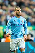 Kyle Walker (#2) of Manchester City during the Premier League match between Newcastle United and Manchester City at St. James's Park, Newcastle, England on 30 November 2019.