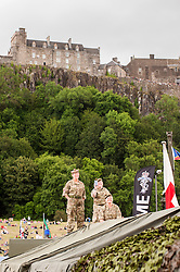 In the Shadow of Sterling Castle and Walace's Monument 1,000's of servicemen and women take part in the 6th Annual Armed Forces Day. <br />