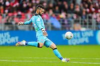 Anthony SCRIBE  - 20.12.2014 - Brest / Ajaccio - 18eme journee de Ligue 2 -<br /> Photo : Vincent Michel / Icon Sport