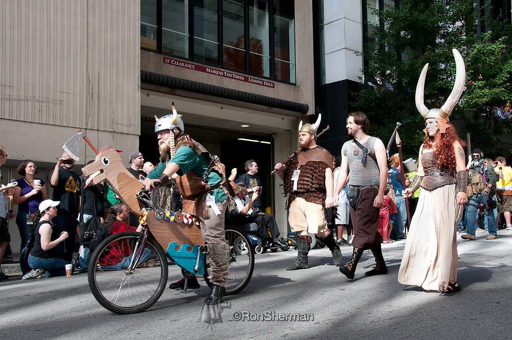 DragonCon is a annual multimedia popular culture convention in Atlanta GA focusing on science fiction and fantasy, gaming, comics, literature; art; music, television and film.
