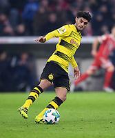 Fussball  DFB Pokal  Achtelfinale  2017/2018   FC Bayern Muenchen - Borussia Dortmund        20.12.2017 Mahmoud Dahoud (Borussia Dortmund)