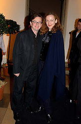 SEBASTIAN CONRAN and GERTRUDE THOME<br /><br />at a party to celebrate the 10th anniversary of Jo Malone the perfumer held at The Banquetting House, Whitehall, London on 21st October 2004.<br /><br /><br /><br />NON EXCLUSIVE - WORLD RIGHTS