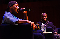 """2017 University of Chicago Rosenberger Medal awardee, Steve Coleman gave the final performance of his third Chicago residency Sunday evening, April 29th, 2018 with his band, """"The Five Elements"""". The event was held at the Reva and David Logan Center for the arts located at 915 E. 60th Street. The Rosenberger Medal is awarded to people in recognition of achievement through research, in authorship, in invention, for discovery, or for anything that is of great value to humanity.<br /> <br /> Please 'Like' """"Spencer Bibbs Photography"""" on Facebook.<br /> <br /> Please leave a review for Spencer Bibbs Photography on Yelp.<br /> <br /> Please check me out on Twitter under Spencer Bibbs Photography.<br /> <br /> All rights to this photo are owned by Spencer Bibbs of Spencer Bibbs Photography and may only be used in any way shape or form, whole or in part with written permission by the owner of the photo, Spencer Bibbs.<br /> <br /> For all of your photography needs, please contact Spencer Bibbs at 773-895-4744. I can also be reached in the following ways:<br /> <br /> Website – www.spbdigitalconcepts.photoshelter.com<br /> <br /> Text - Text """"Spencer Bibbs"""" to 72727<br /> <br /> Email – spencerbibbsphotography@yahoo.com"""