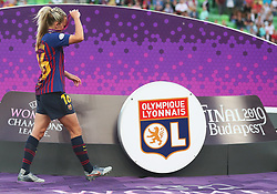 May 18, 2019 - Budapest, Hungary - Toni Duggan of FC Barcelona during the UEFA Women's Champions League Final between Olympique Lyonnais and FC Barcelona Women at Groupama Arena on May 18, 2019 in Budapest, Hungary  (Credit Image: © Action Foto Sport/NurPhoto via ZUMA Press)