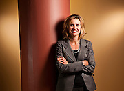 Portrait of Michelle Gass - Executive Vice President of Marketing and Category at Starbucks Coffee Photographed by Brian Smale for BusinessWeek Magazine, at Starbucks' Seattle headquarters.