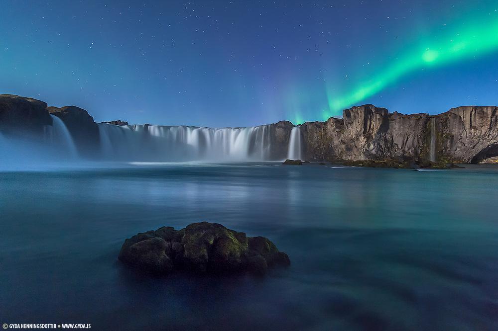 Godafoss Image from Northeast-Iceland Mývatnssveit
