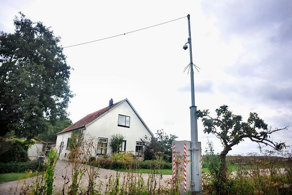 Nederland, Millingen, 13-9-2012Het huis van twee van de doden uit de Kekerdomse moordzaak. De politie heeft een camera aangebracht.Foto: Flip Franssen/Hollandse Hoogte