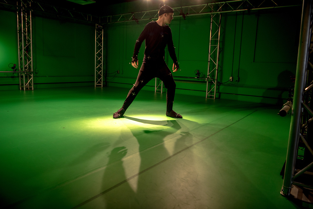 GRID Lab, Scripps College of Communications, Scripps Hall, Motion Capture