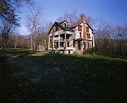 BB07027-01...INDIANA - House at the Bailly Homestead in Indiana Dunes National Lakeshore.