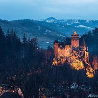 Dracula-Schloss Törzburg, Bran, Kronstadt (Brasov), Siebenbürgen/Transylvanien, Rumänien *