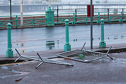 Brighton, UK. 20/11/2016, Brighton wakes up to aftermath of StormAngus who has hit the seaside resort overnight with winds unto 80mph. Photo Credit: Hugo Michiels