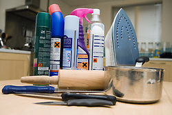 Household Items used for domestic abuse,