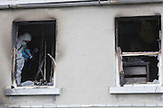 26/9/2007.The scene of the fire on Parnell Street in Kilkenny where a man died as a result of the fire..Picture Dylan Vaughan.