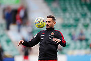 SUNDSVALL, SWEDEN - MAY 19: Sotirios Papagianopoulos of Ostersunds FK during warm up ahead of the Allsvenskan match between GIF Sundsvall and Ostersunds FK at Idrottsparken on May 19, 2018 in Sundsvall, Sweden. Photo: Nils Petter Nilsson/Ombrello ***BETALBILD***