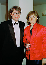 MR & MRS ANDREW MITCHELL he is a director of bankers Lazard Brothers, at a ball in London on 16th April 1998.MGR 18