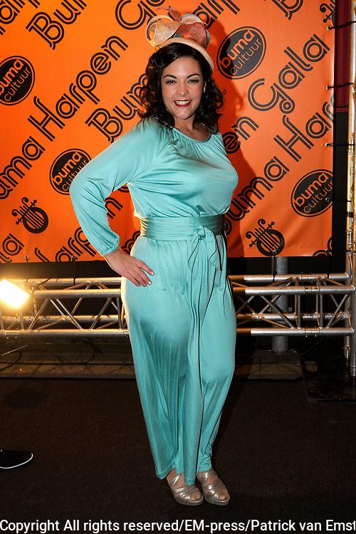 Buma Harpen Gala 2011 AWARDS vanuit de Vredenburg Leidsche Rijn , Utrecht.<br /> <br /> Op de foto:   Caro Emerald