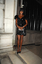 NAOMI CAMPBELL at the Moet Mirage Evening at Holland Park Opera House, London W8 on 16th September 2007.<br />