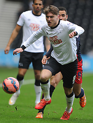 Jeff Hendrick Derby County, Derby County v Reading, FA Cup 5th Round, The Ipro Stadium, Saturday 14th Febuary 2015