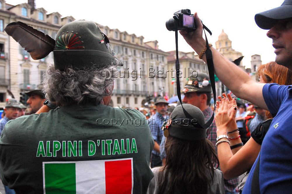 8 Maggio 2011 84° Adunata Nazionale Alpini a Torino in occasione delle celebrazioni dei 150 anni dell'Italia