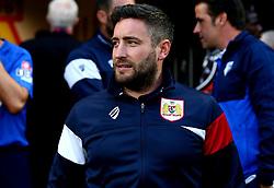 Bristol City head coach Lee Johnson - Mandatory by-line: Robbie Stephenson/JMP - 22/08/2017 - FOOTBALL - Vicarage Road - Watford, England - Watford v Bristol City - Carabao Cup