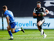 Scott Baldwin of Ospreys<br /> <br /> Photographer Simon King/Replay Images<br /> <br /> Guinness PRO14 Round 18 - Ospreys v Dragons - Saturday 23rd March 2019 - Liberty Stadium - Swansea<br /> <br /> World Copyright © Replay Images . All rights reserved. info@replayimages.co.uk - http://replayimages.co.uk