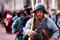 2015-01-25 The Kings Army parade remembers the execution of King Charles I