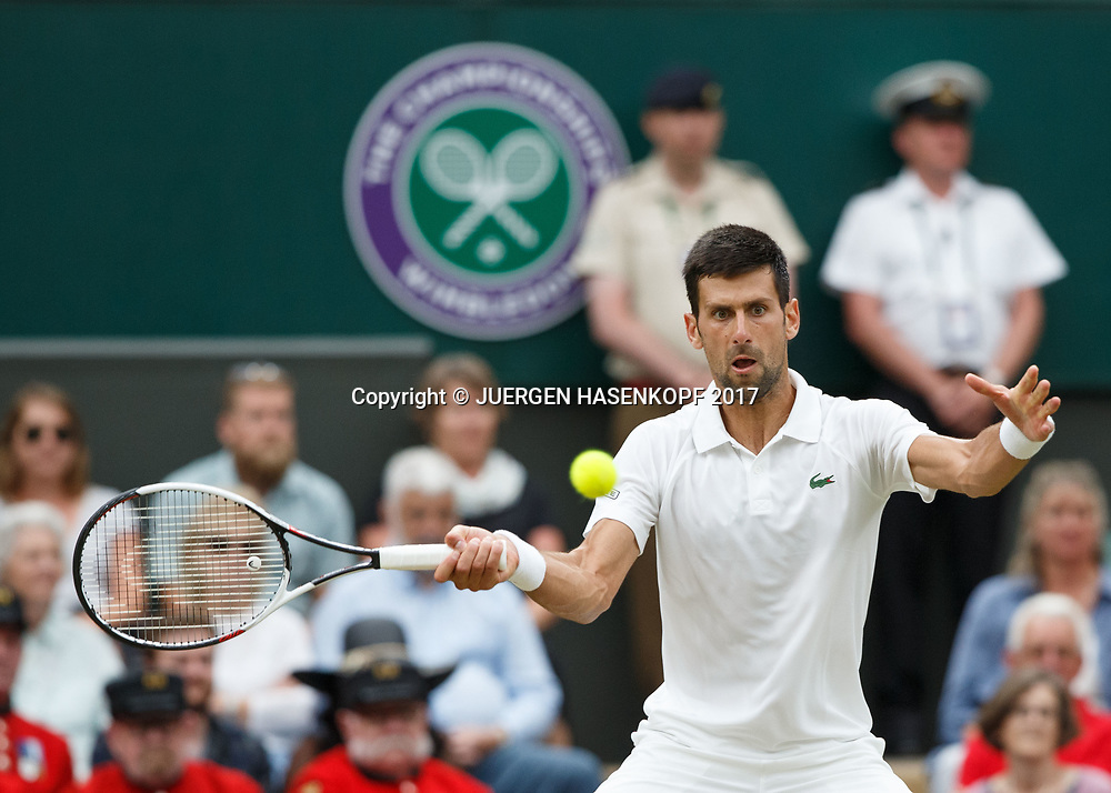 NOVAK DJOKOVIC (SRB)<br /> <br /> Tennis - Wimbledon 2017 - Grand Slam ITF / ATP / WTA -  AELTC - London -  - Great Britain  - 11 July 2017.