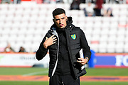 Ben Godfrey (4) of Norwich City ahead of the Premier League match between Bournemouth and Norwich City at the Vitality Stadium, Bournemouth, England on 19 October 2019.