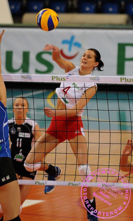 2009 / 02 / 15 kalisz ..siatkowka plusliga kobiety ..mecz calisia kalisz - mks dabrowa gornicza ..n / z : anita chojnacka ..foto . piotr sumara / mediasport