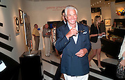 GEORGE HAMILTON; , Opening of Art Basel Miami Beach. Convention Centre.  Miami Beach. 30 November 2010. -DO NOT ARCHIVE-© Copyright Photograph by Dafydd Jones. 248 Clapham Rd. London SW9 0PZ. Tel 0207 820 0771. www.dafjones.com.