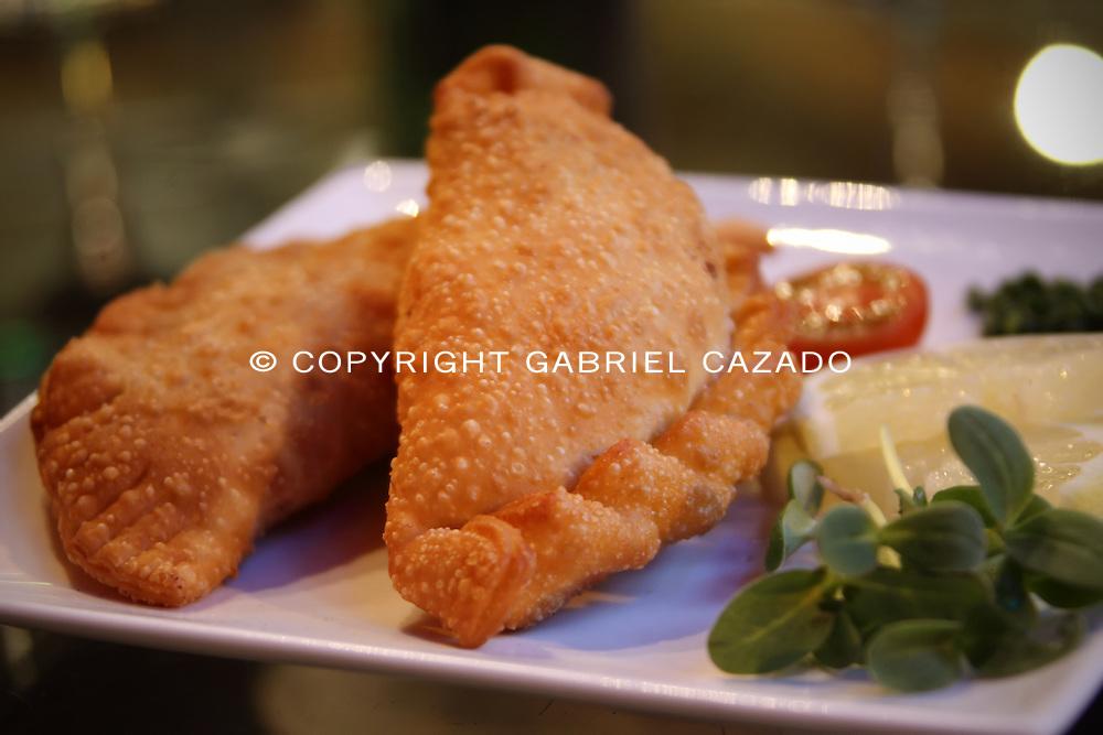 Fried Argentinian Empanadas.