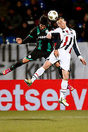 Onderwerp/Subject: Willem II - FC Groningen - Eredivisie<br /> Reklame:  <br /> Club/Team/Country: <br /> Seizoen/Season: 2012/2013<br /> FOTO/PHOTO: Tim CORNELISSE (R) of Willem II in duel with David TEXEIRA ( Cesar David Texeira TORRES ) (L) of FC Groningen. (Photo by PICS UNITED)<br /> <br /> Trefwoorden/Keywords: <br /> #04 $94 ±1355238911262<br /> Photo- & Copyrights © PICS UNITED <br /> P.O. Box 7164 - 5605 BE  EINDHOVEN (THE NETHERLANDS) <br /> Phone +31 (0)40 296 28 00 <br /> Fax +31 (0) 40 248 47 43 <br /> http://www.pics-united.com <br /> e-mail : sales@pics-united.com (If you would like to raise any issues regarding any aspects of products / service of PICS UNITED) or <br /> e-mail : sales@pics-united.com   <br /> <br /> ATTENTIE: <br /> Publicatie ook bij aanbieding door derden is slechts toegestaan na verkregen toestemming van Pics United. <br /> VOLLEDIGE NAAMSVERMELDING IS VERPLICHT! (© PICS UNITED/Naam Fotograaf, zie veld 4 van de bestandsinfo 'credits') <br /> ATTENTION:  <br /> © Pics United. Reproduction/publication of this photo by any parties is only permitted after authorisation is sought and obtained from  PICS UNITED- THE NETHERLANDS