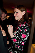 Sophie Ellis-Bextor, InStyle's Best Of British Talent Party in association with Lancome. Shoreditch HouseLondon. 25 January 2011, -DO NOT ARCHIVE-© Copyright Photograph by Dafydd Jones. 248 Clapham Rd. London SW9 0PZ. Tel 0207 820 0771. www.dafjones.com.