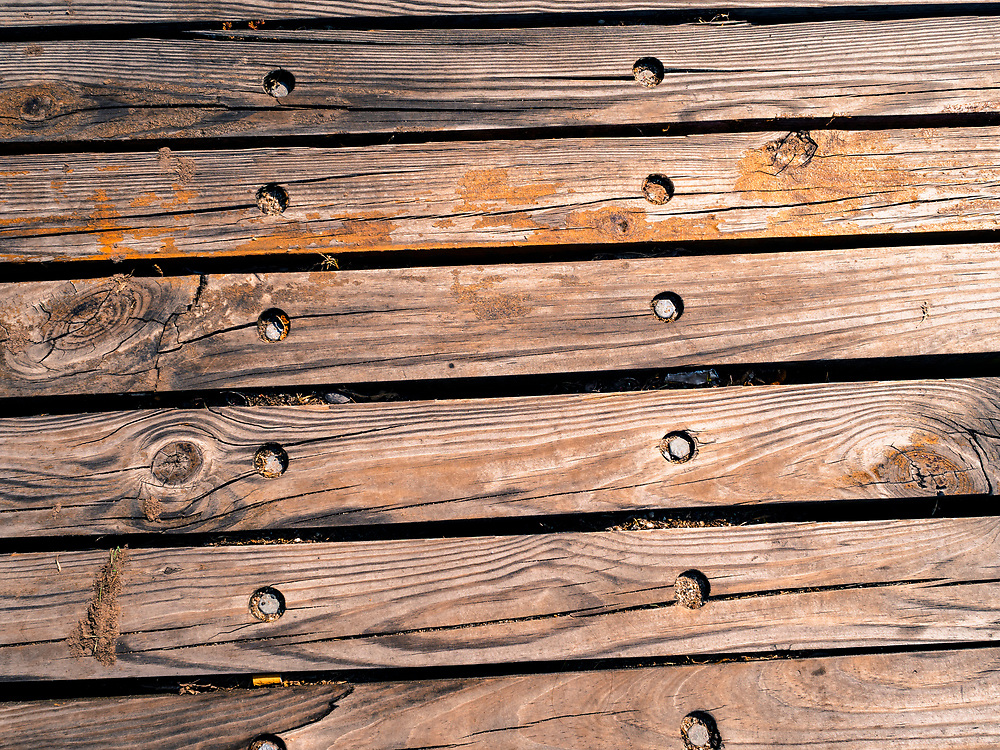 Old wooden planks gritty wood texture background