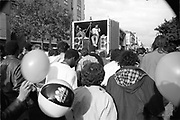 Music on lorry, Notting Hill Carnival, London, 1989