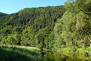Eifel, Ahrtal bei Bonn..romantische Ahr bei Altenahr