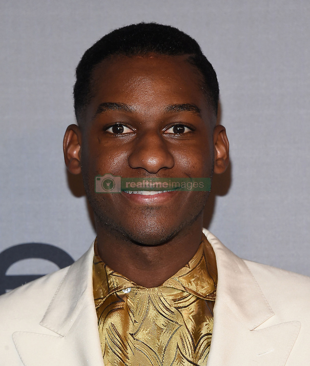October 24, 2016 - Los Angeles, California, U.S. - Leon Bridges arrives for the InStyle Awards 2016 at the Getty Center. (Credit Image: © Lisa O'Connor via ZUMA Wire)