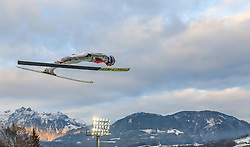 06.01.2016, Paul Ausserleitner Schanze, Bischofshofen, AUT, FIS Weltcup Ski Sprung, Vierschanzentournee, Bischofshofen, Probedurchgang, im Bild Kenneth Gangnes (NOR) // Kenneth Gangnes of Norway during his trial jump of the Four Hills Tournament of FIS Ski Jumping World Cup at the Paul Ausserleitner Schanze in Bischofshofen, Austria on 2016/01/06. EXPA Pictures © 2016, PhotoCredit: EXPA/ JFK