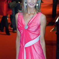 LONDON - FEBRUARY 12: Lady  VICTORIA HARVEY at the UK gala premiere of 'Rambo' at the Vue cinema, Leicester Square on February 12, 2008 in London, England.