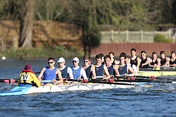 2012.02.25 Reading University Head 2012. The River Thames. Division 2. University of Surrey Boat Club IM2 8+