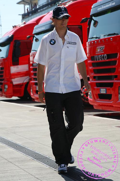 03.08.2008 Budapest, Hungary, .Robert Kubica (POL),  BMW Sauber F1 Team - Formula 1 World Championship, Rd 11, Hungarian Grand Prix, Sunday .FOT. XPB.CC / WROFOTO.*** POLAND ONLY !!! ***.*** NO INTERNET / MOBILE USAGE !!! ***