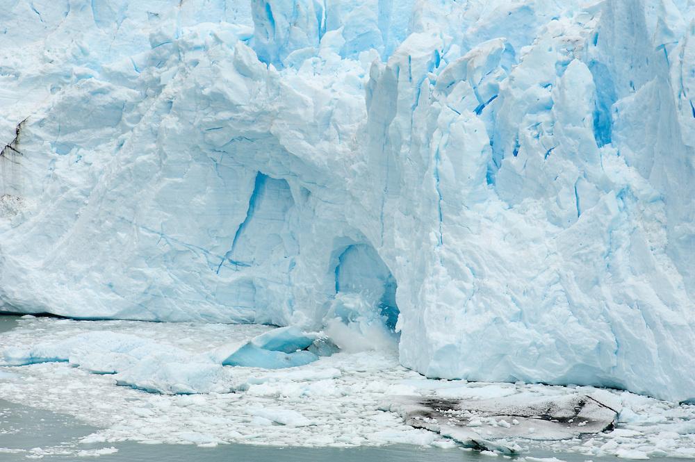 Glacier Ice Points, Perito Moreno Glacier<br /> Los Glaciares National Park Argentina