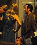 04.JUNE.2009 - LONDON<br /> <br /> PRINCE HARRY'S EX-GIRLFRIEND CHLSEA DAVEY STANDING OUTSIDE RAFFLES CLUB, KENSINGTON TALKING TO A GUY FOR 30 MINUTES CHAIN SMOKING BEFORE FINALLY LEAVING AT 2.00AM AND GOT IN A CAB TO GO HOME ALONE, IT LOOKS LIKE CHELSEA HAD A FASHION DISASTER AS SHE WORE A BLUE DRESS WITH A BRIGHT PINK PLASTIC WATCH.<br /> <br /> BYLINE: EDBIMAGEARCHIVE.COM<br /> <br /> *THIS IMAGE IS STRICTLY FOR UK NEWSPAPERS AND MAGAZINES ONLY* <br /> *FOR WORLD WIDE SALES AND WEB USE PLEASE CONTACT EDBIMAGEARCHIVE - 0208 954 5968*