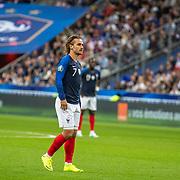 PARIS, FRANCE - September 10:  Antoine Griezmann #7 of France during the France V Andorra, UEFA European Championship 2020 Qualifying match at Stade de France on September 10th 2019 in Paris, France (Photo by Tim Clayton/Corbis via Getty Images)