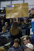 KELOWNA, CANADA - FEBRUARY 12:  BCAA at the Kelowna Rockets game on February 12, 2018 at Prospera Place in Kelowna, British Columbia, Canada.  (Photo By Cindy Rogers/Nyasa Photography,  *** Local Caption ***